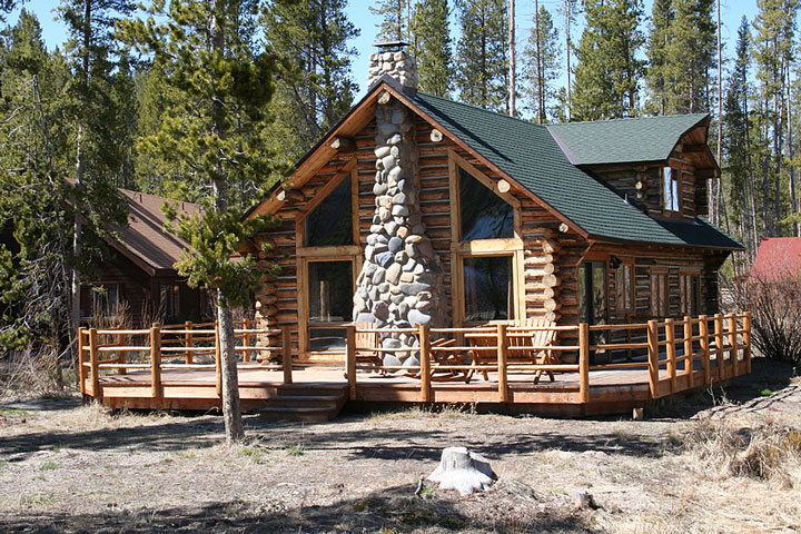Residential architects and designers in idaho for Log home architects