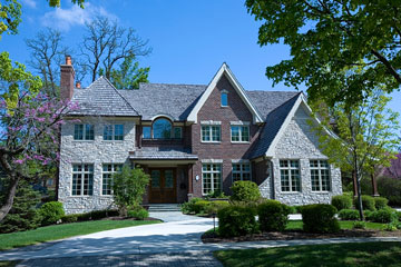 mansion in Chicago, Illinois suburbs