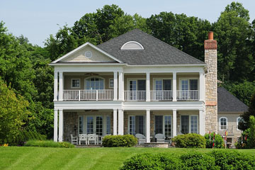 southern style Kentucky home