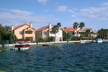 waterfront homes in Las Vegas, Nevada
