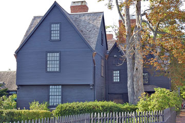 wooden cottage in Salem, Massachusetts