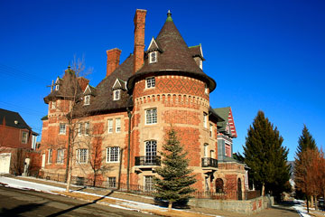 French style chateau - Butte, Montana