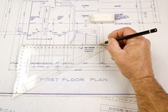 residential architect at work